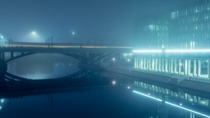 At Night 6 by Andreas Levers