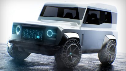 LAND ROVER CYBER DEFENDER by Matteo Gentile