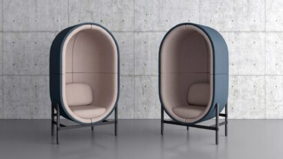 CAPSULE soft seating collection for PALAU by Kateryna Sokolova