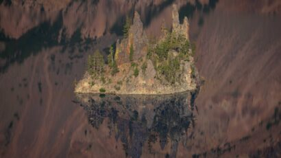 Crater Lake NP Summer by Patrick Mueller