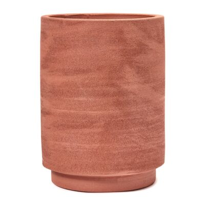 cylinder-plant-pot-red-large