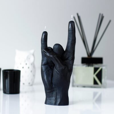 you-rock-candle-black