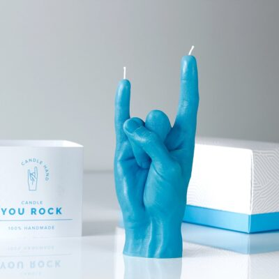 you-rock-candle-blue