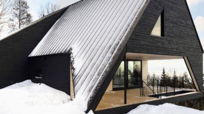 Cabine A by Bourgeois, Lechasseur architectes